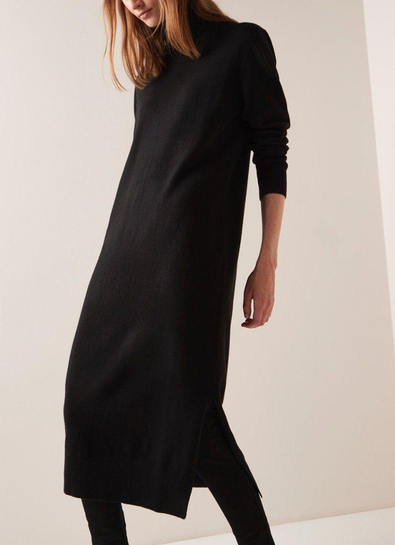 jurk met col