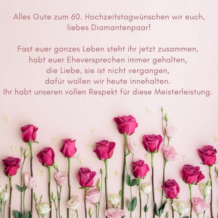 Spruche Zur Diamantenen Hochzeit Gedichte Zitate Blumen Spruch Spruche Zur Diamantenen Hochzeit Hochzeitstag Spruche