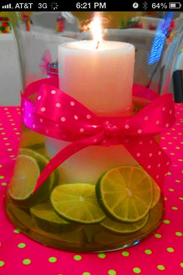 Limes? Great idea.