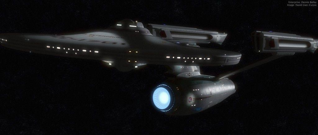 USS Enterprise NCC 1701 (refit)
