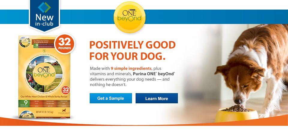 Free Sample Of Purina Dog Food From Sam S Club Dog Food Recipes