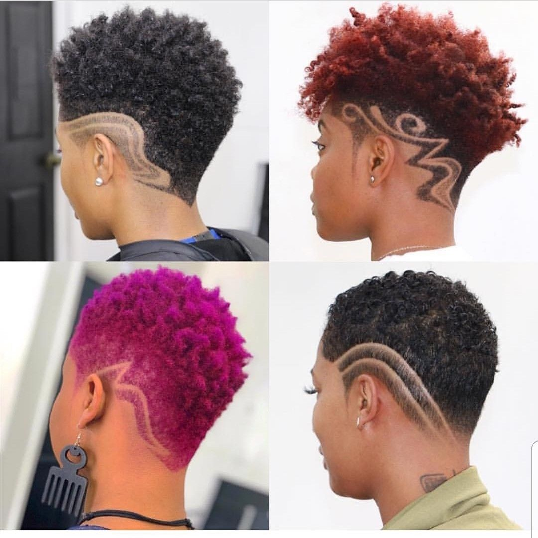 African American Women Hairstyles Short Hair Styles African American Short Natural Hair Styles Shaved Hair Designs