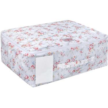 Keep your clothes tidied away in our pretty Bleached Flowers underbed storage bag. This practical  sc 1 st  Pinterest & Keep your clothes tidied away in our pretty Bleached Flowers ...