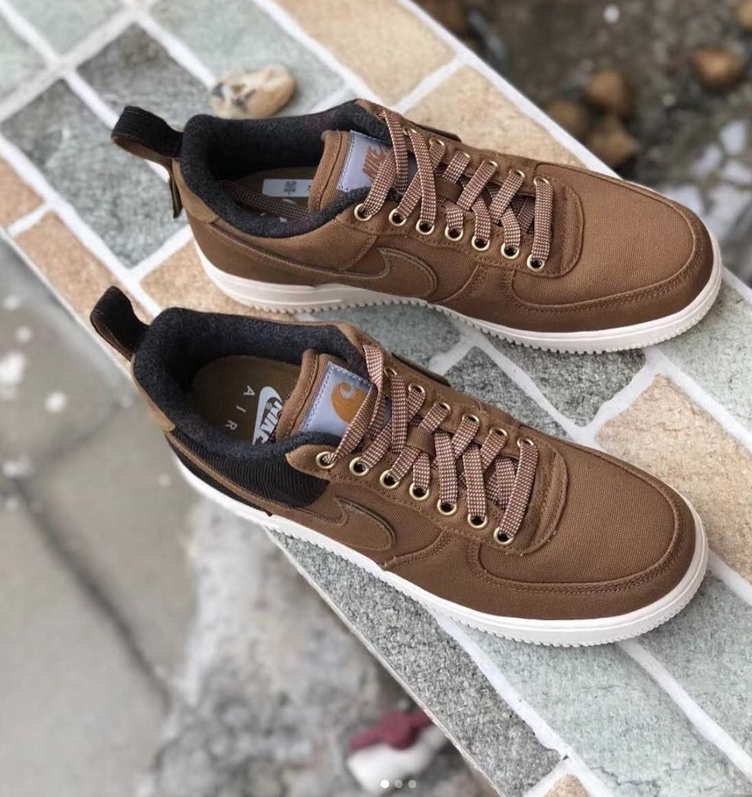 4257e13d3413b7 Emporium of Tings. Web Magazine. - https   drwong.live. Here s a first full  look at the Carhartt WIP x Nike Air Force 1 Low ...