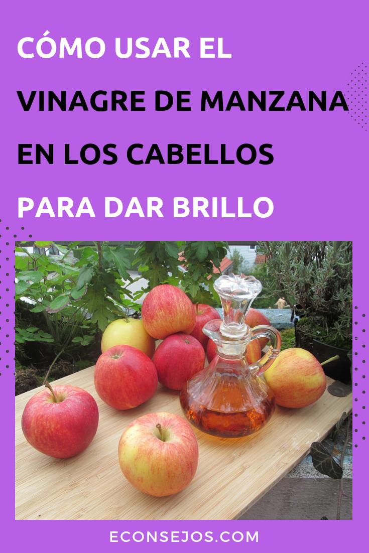 Revitaliza Tu Cabello Con Vinagre De Manzana Aprende A Usarlo Manzanilla Para El Cabello Vinagre De Manzana Lavar Pelo