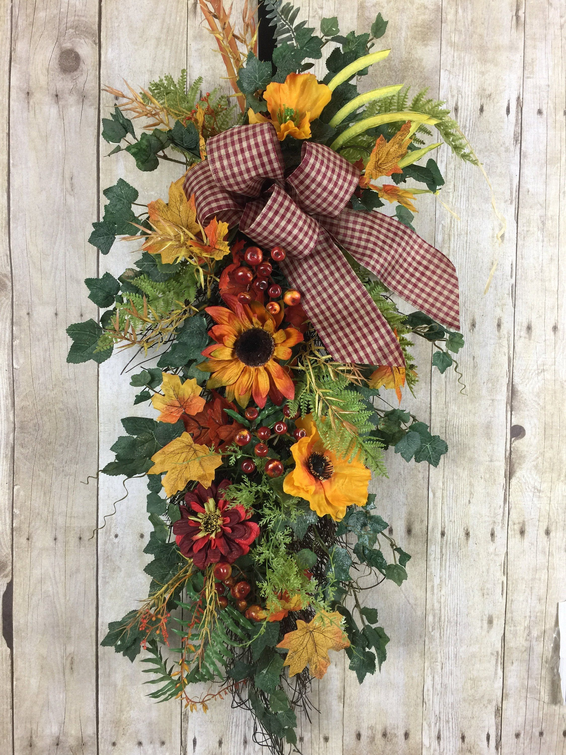 Fall Wreaths For Front Door Outdoor
