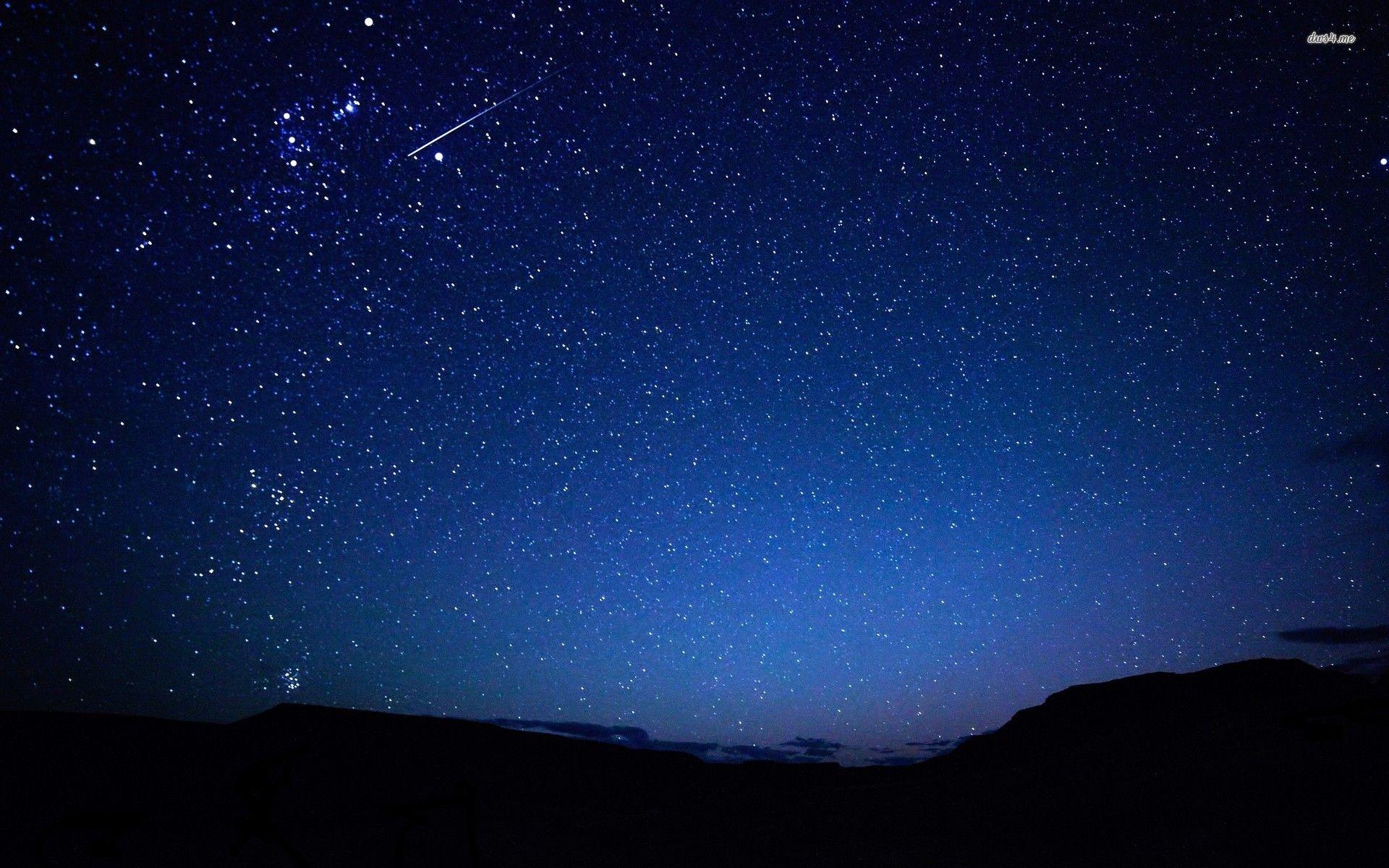 Stars In The Sky Hd Wallpaper Night Sky Wallpaper Star Sky Starry Night Wallpaper