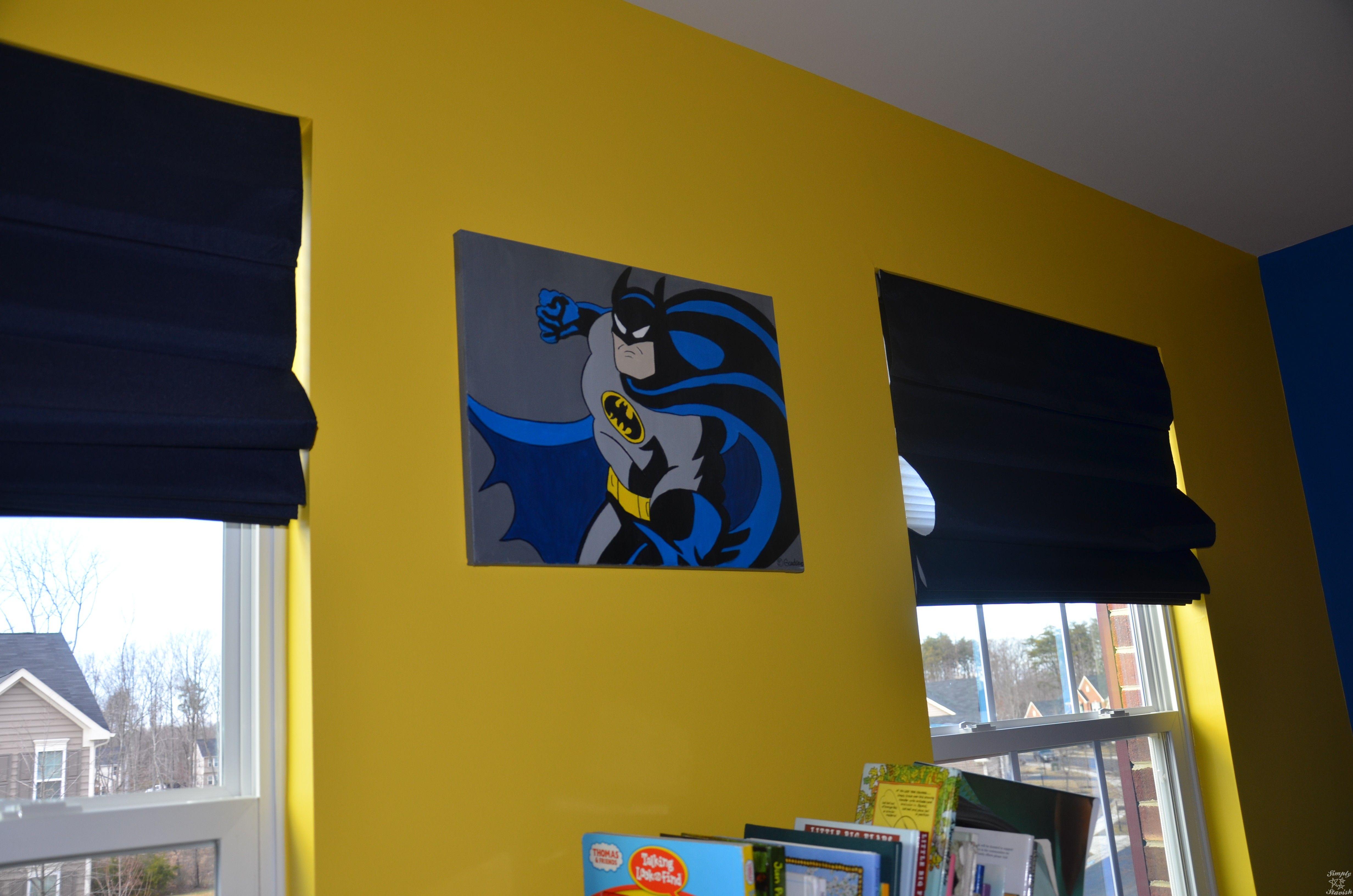 Batman bedroom paint ideas -  Ver 1 000 Bilder Om Grant S Room P Pinterestbarnkammare F R Pojkar Pojkrum Och Superman