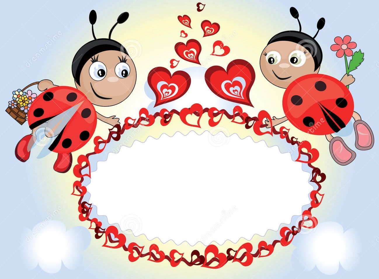 Dreamstime.com #ladybugs #frame | Keretek | Pinterest | Ladybug ...