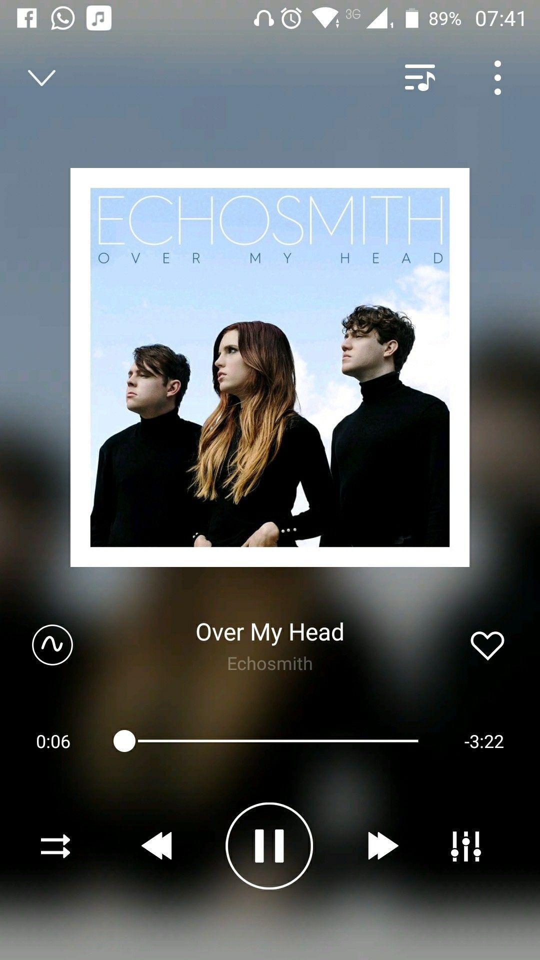 Echosmith over my head echosmith music is life songs