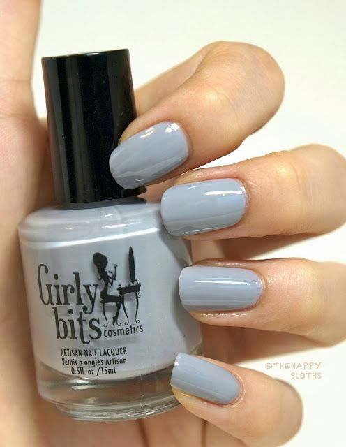 "The Happy Sloths: ""Elephant Shoe"" from Girly Bits: Review and Swatches"