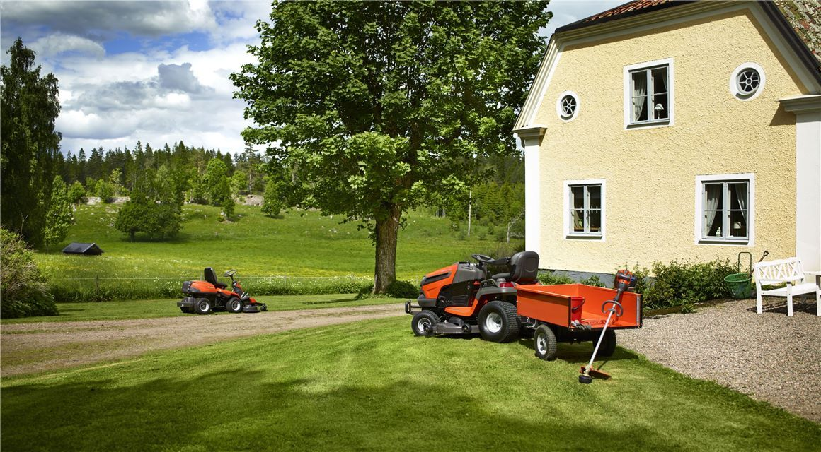 Get your lawn ready for spring. Spring is around the