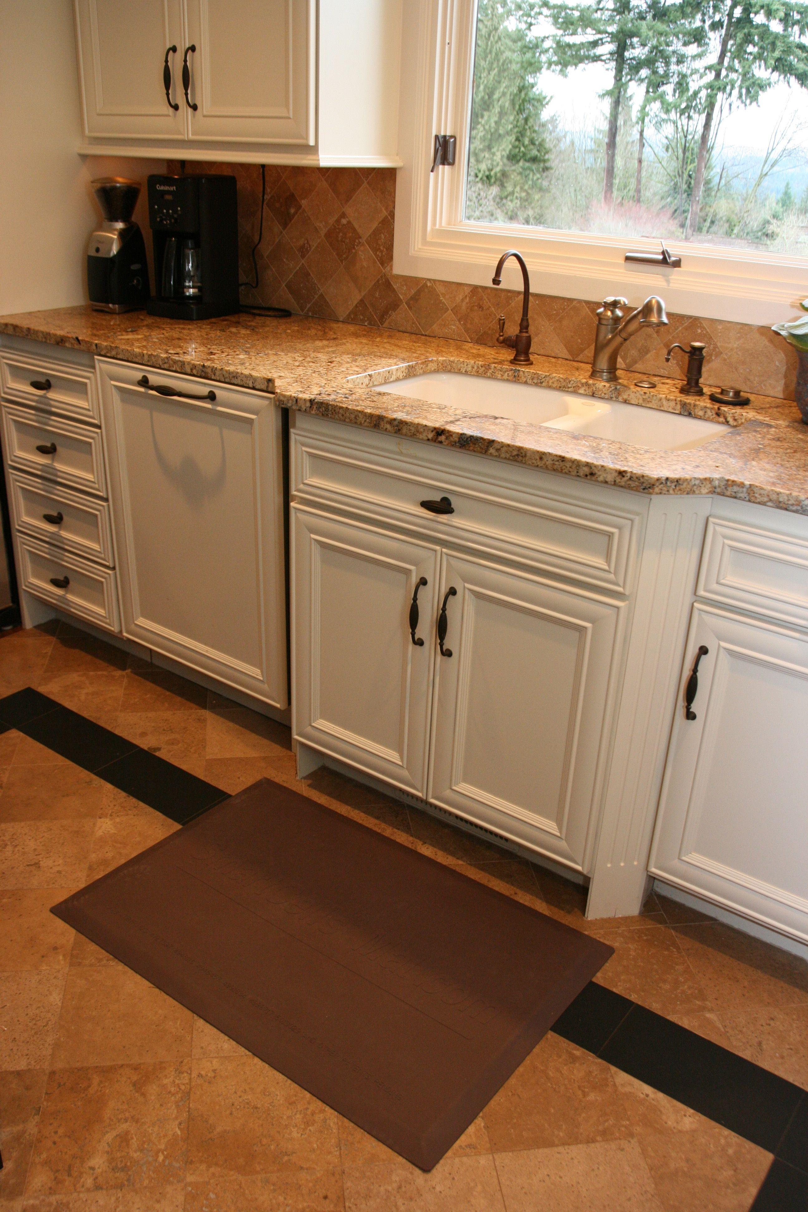 Anti Fatigue Mats Flooring Home Kitchens Kitchen Remodel Dream Kitchen