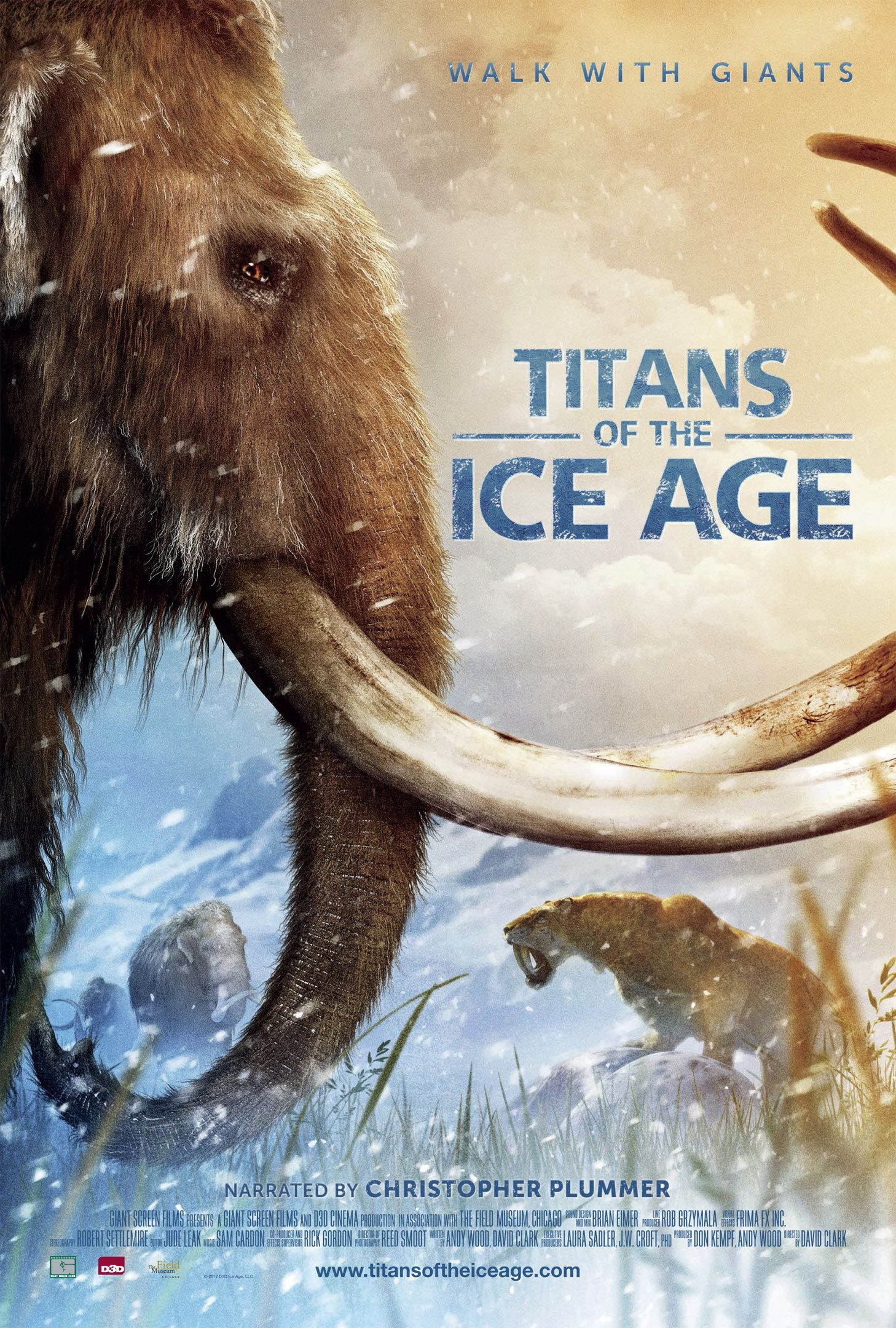 Titans Of The Ice Age Narrated By Christopher Plummer Ice Age Movies Movies Online