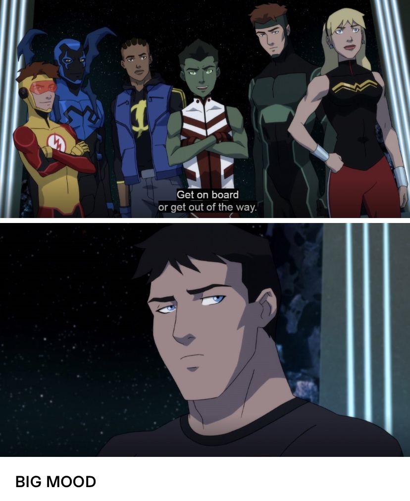 Pin By Vicky Knight On Young Justice Young Justice Funny Young Justice League Young Justice