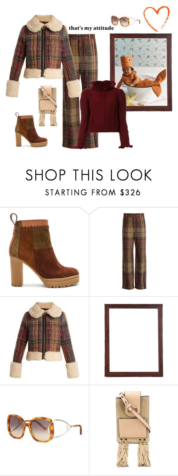 """""""Fishy Friday"""" by juliabachmann ❤ liked on Polyvore featuring See by Chloé and Chloé"""