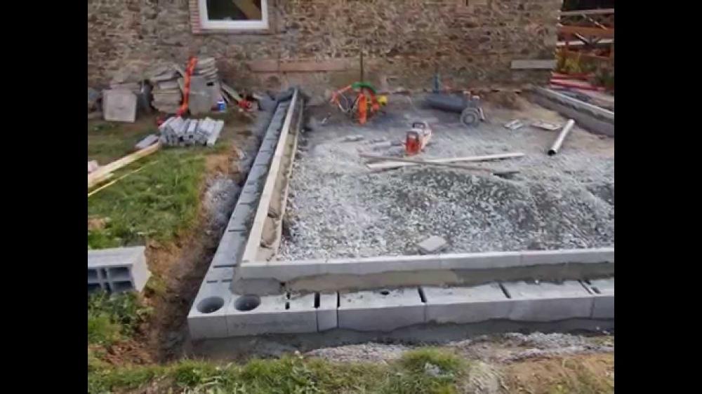 Comment Faire Dalle Beton Pour Terrasse