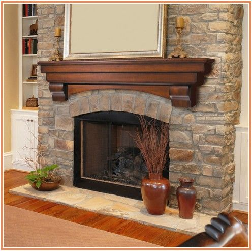 Amazing Fireplace Mantels Ideas Wood