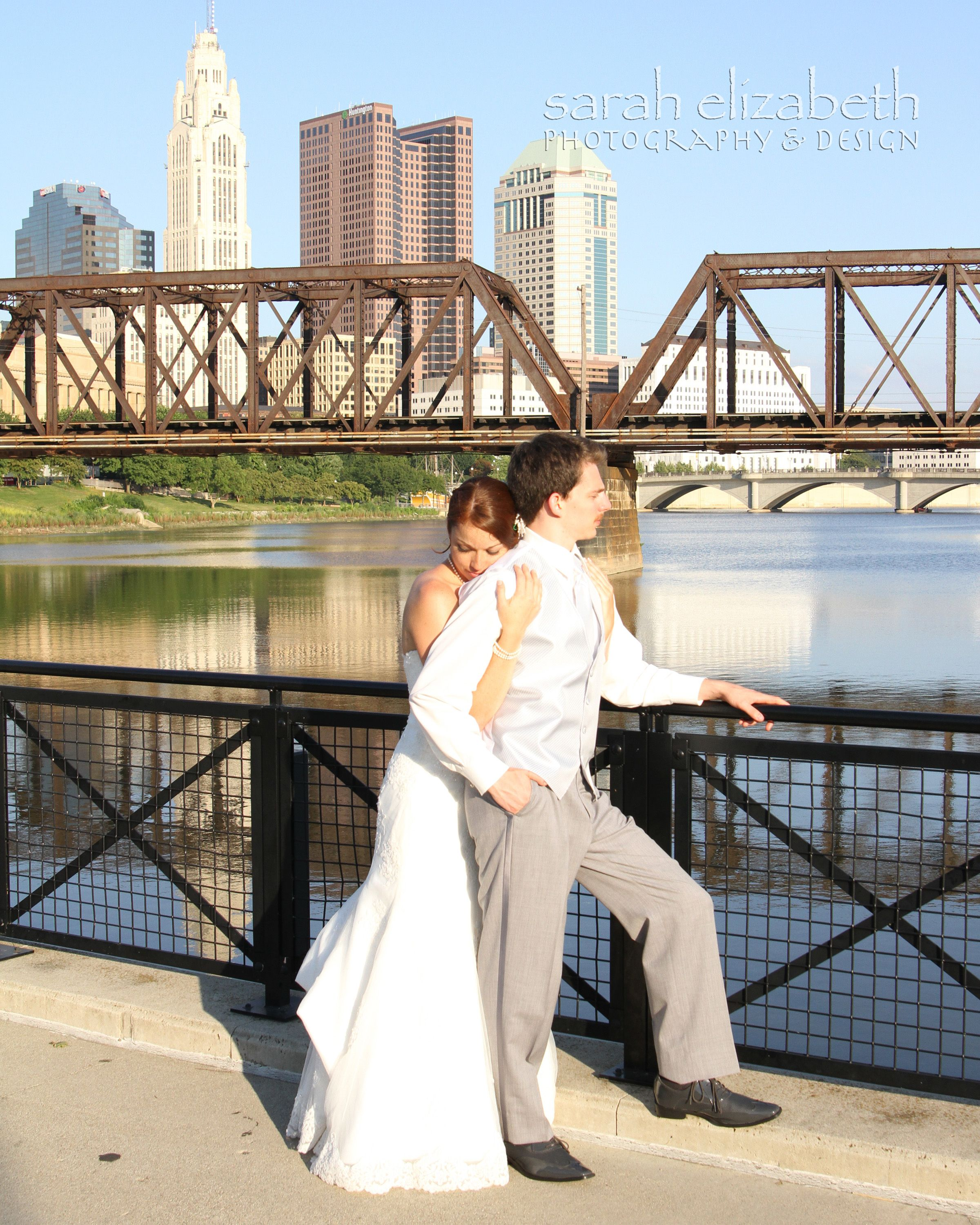 Scioto Mile Wedding Northbank Park Columbus, OH