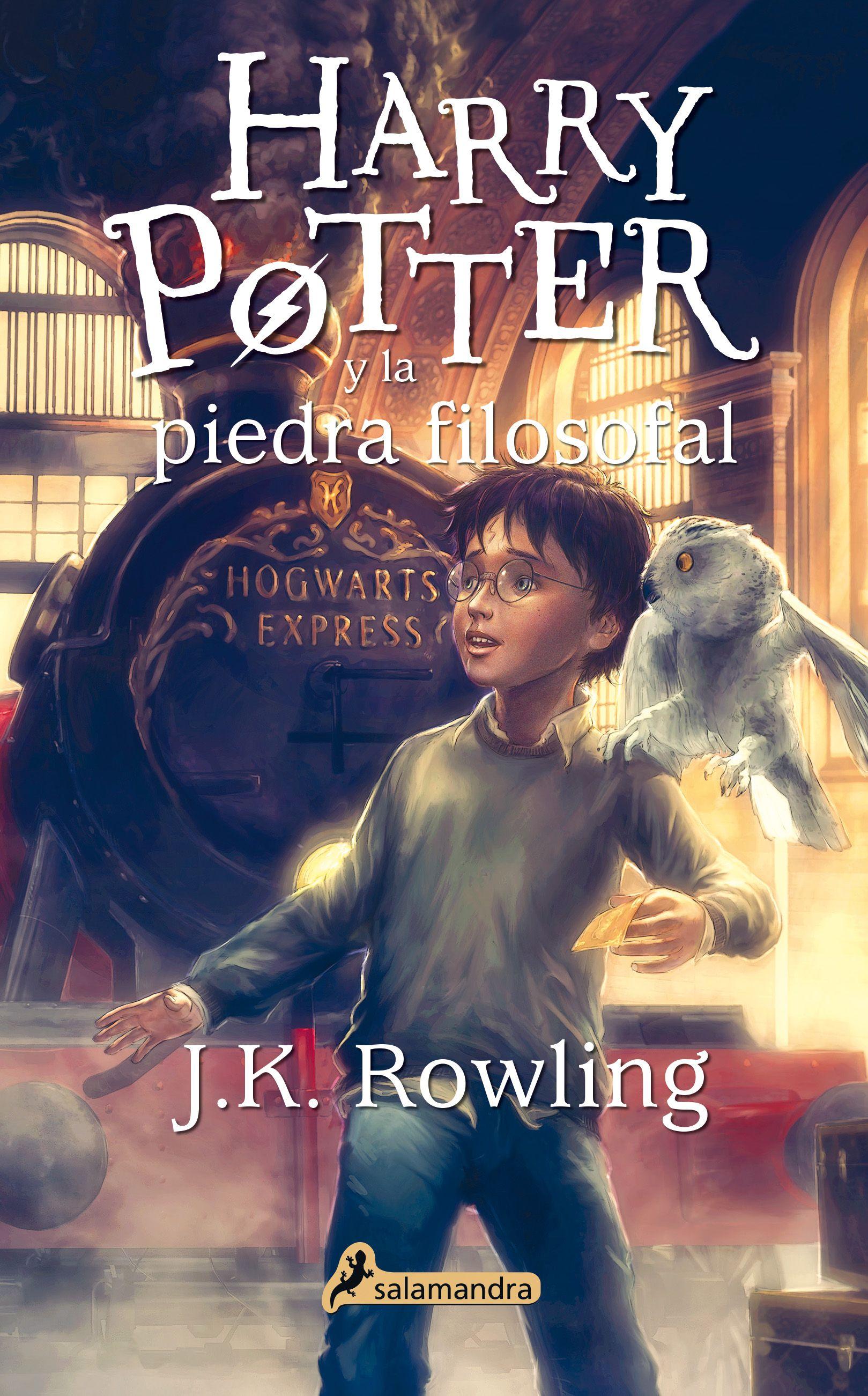 Harry Potter Y La Piedra Filosofal I J K Rowling I Salamandra