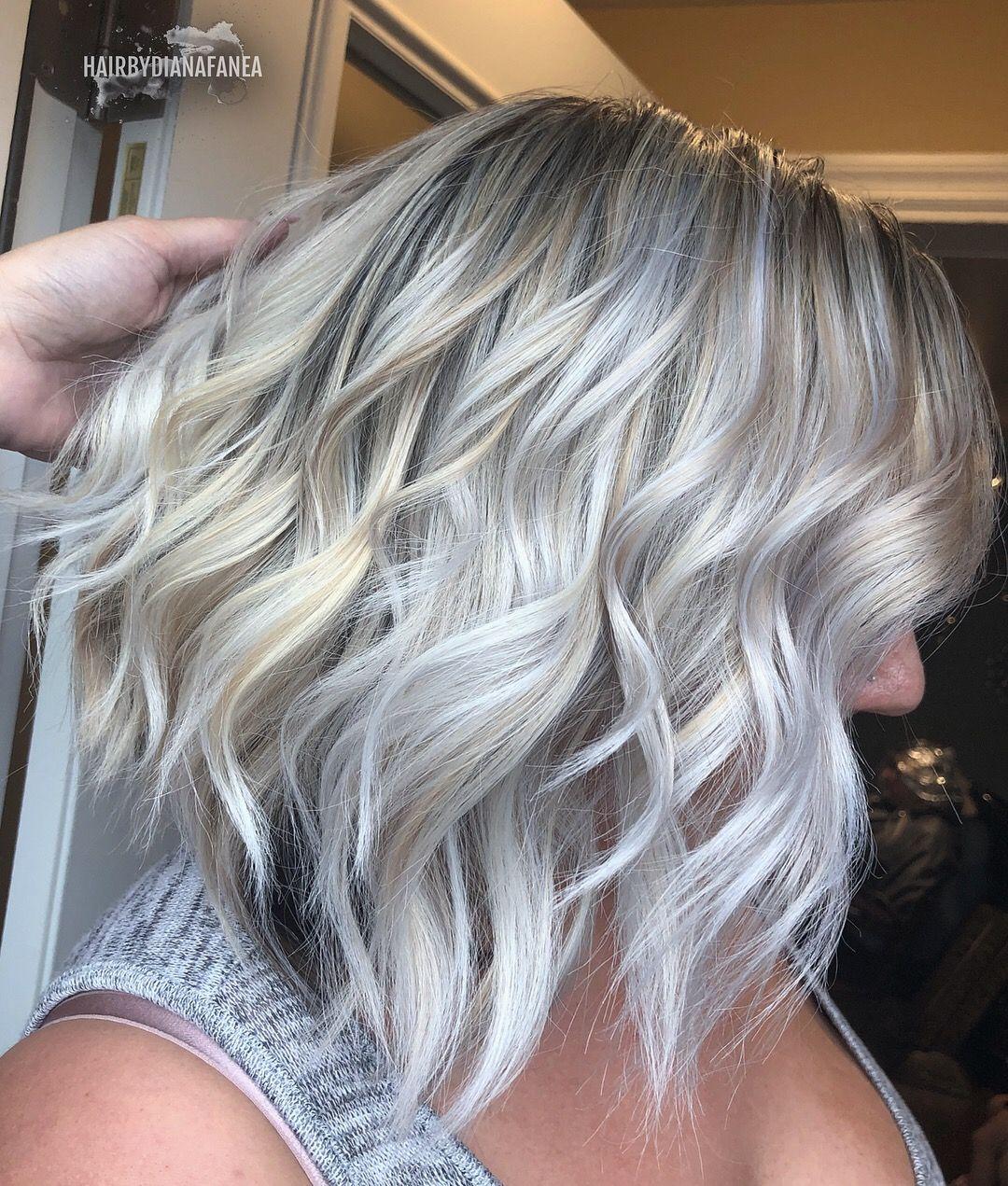 White Hair Platinum Platinum Blonde Silver Hair Balayage White