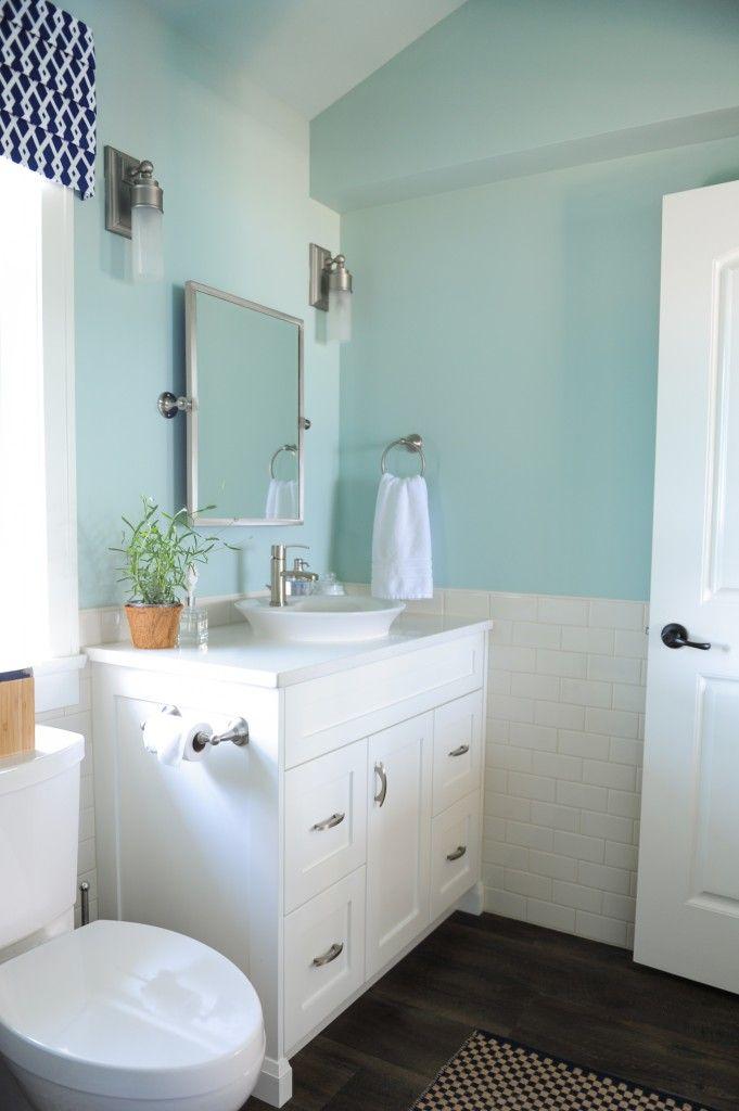 Palladian Blue Bathroom: Indigo & Turquoise Summer House In The Fraser Valley