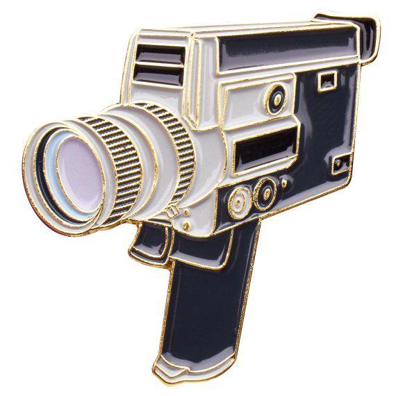 Canon Super 8mm Auto Zoom Film Camera Enamel Pin in 2019