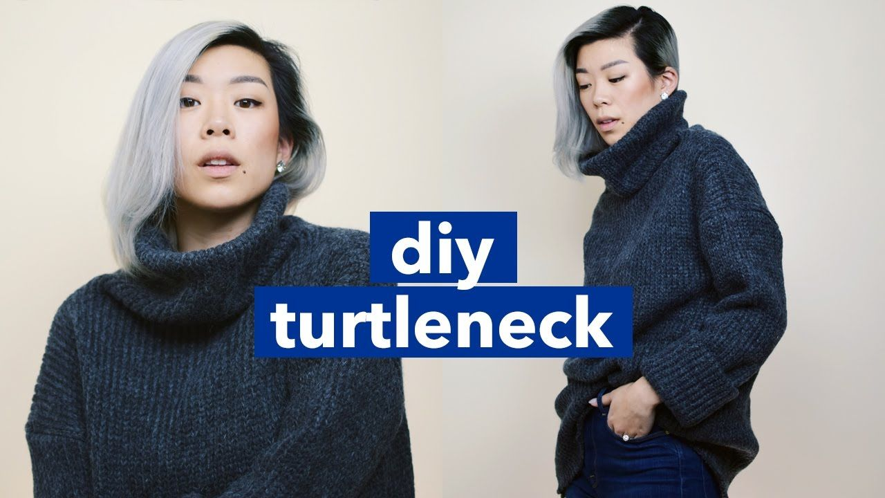 Here's my DIY turtleneck tutorial, I'll show you how to make ...