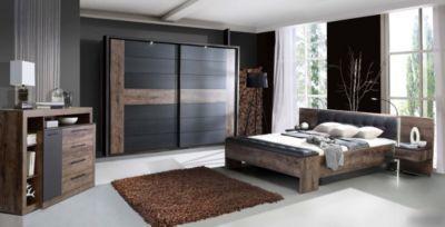 Schlafzimmer-Set mit Bett 180 x 200 cm Schwarzeiche Jetzt bestellen ...