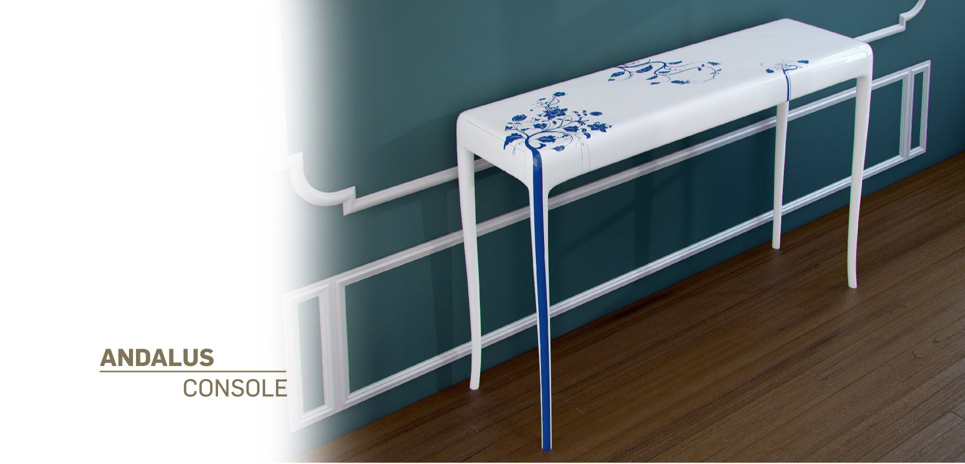 Andalus Console   Heritage Collection - Malabar