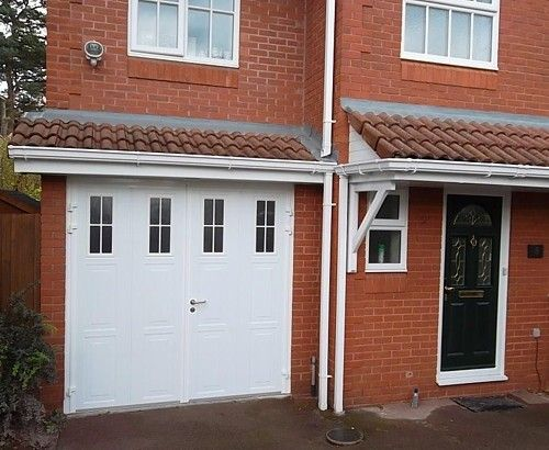 Side Hinged Insulated Doors With Windows Idlewild Garage