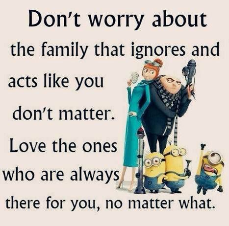You Can Choose Your Friends But Not Your Family Funny Minion Memes Minions Funny Minions Love