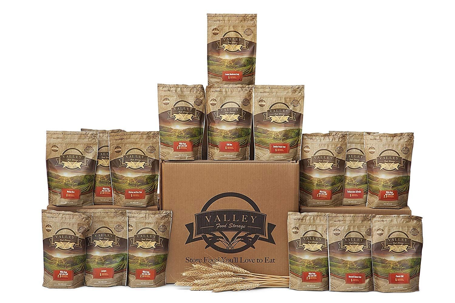 3 month value long term pantry supply of freeze dried