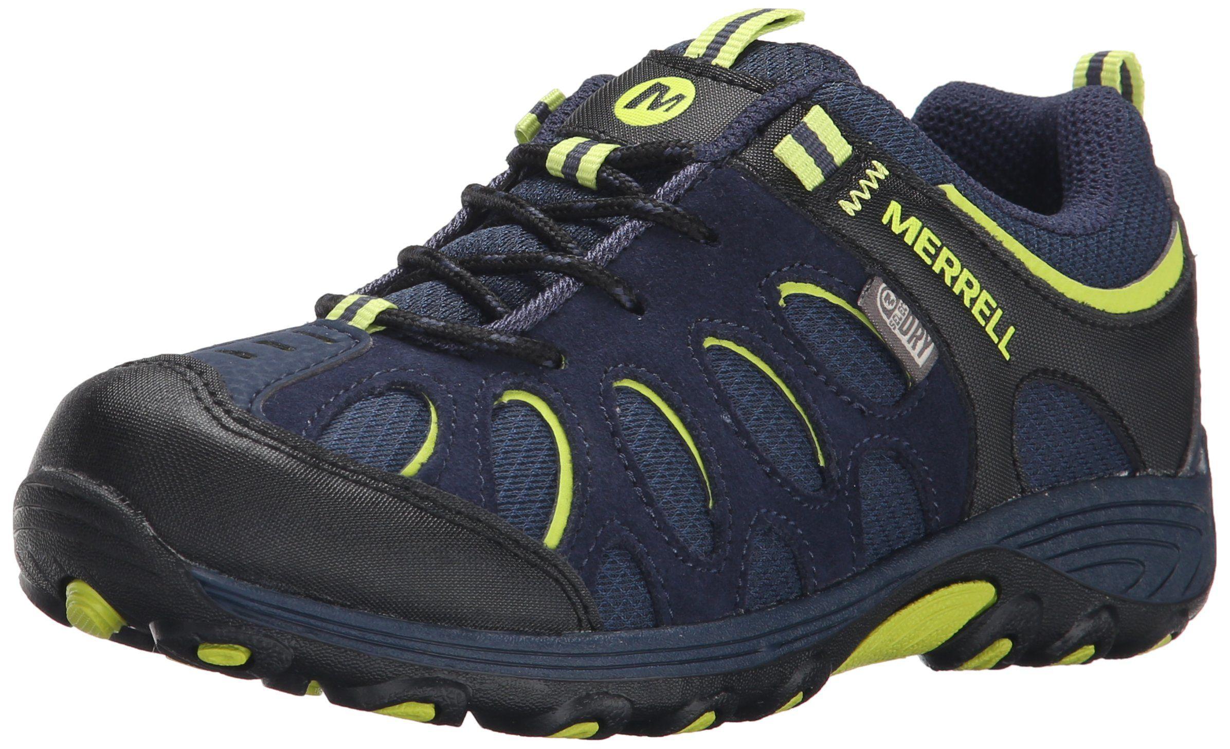 322a1bd93a Merrell Chameleon Low Lace Waterproof Hiking Shoe (Little Kid/Big ...