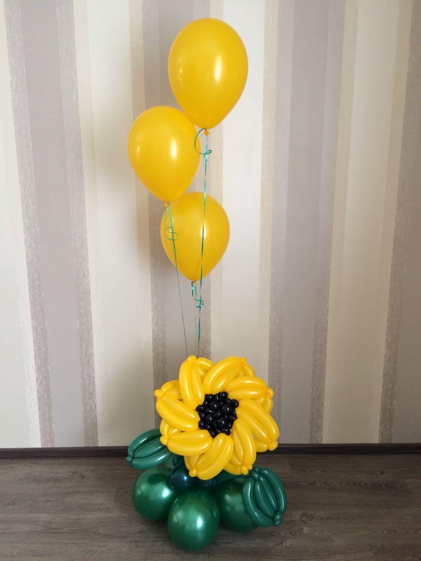 Balloon Balloon centerpieces, Balloon flowers, Balloon