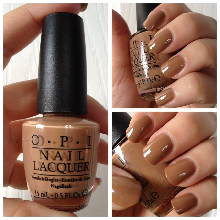 Swatch Opi San Tan Tonio Love This Color Perfect Neutral