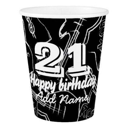 #Rock guitar paper cup - #drinkware #cool #special
