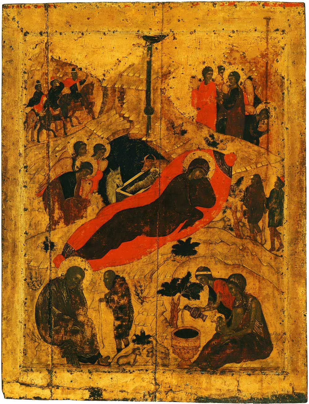 nativity 15th c annunciation cathedral in moscow andrei