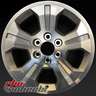 "Chevy Silverado wheels for sale 2014. 18"" Machined rims 5647 - http://www.rtwwheels.com/store/shop/18-chevy-silverado-wheels-for-sale-machined-5647/"
