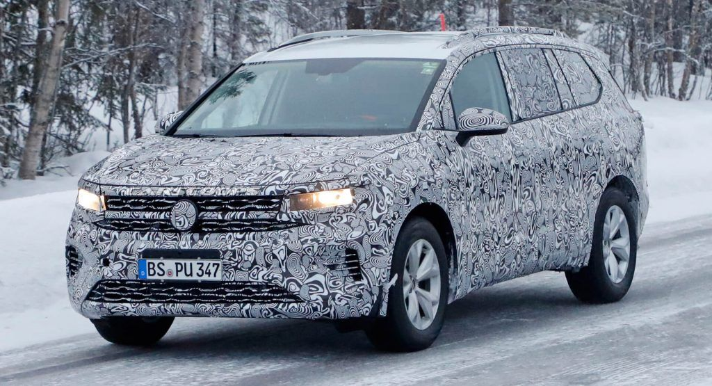 VWs Super-Sized 2021 SMV Crossover Spied Testing In Europe