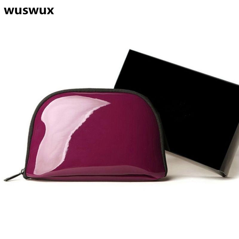 17237b4070f6 WUSWUX Hot Sale quality 2017 fashion PU women travel cosmetic bag organizer makeup  case Casual storage