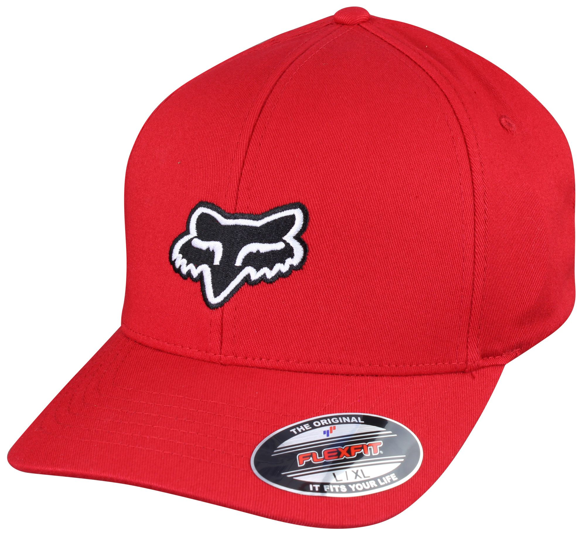finest selection 7844e a88ba Fox Racing Legacy Flexfit Hat (Red Black White)