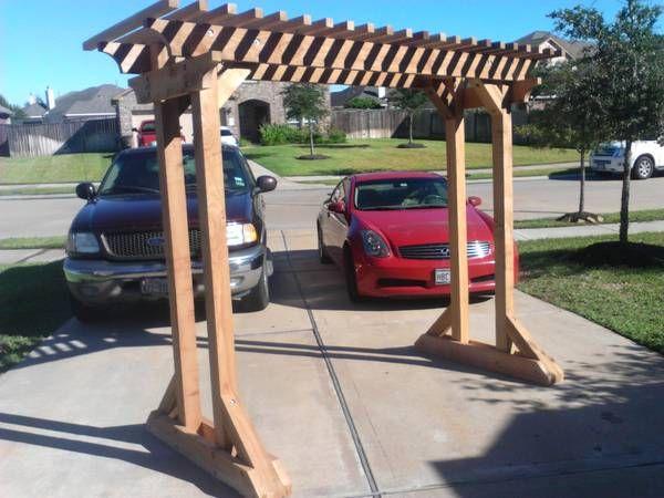 Very nice freestanding arbor