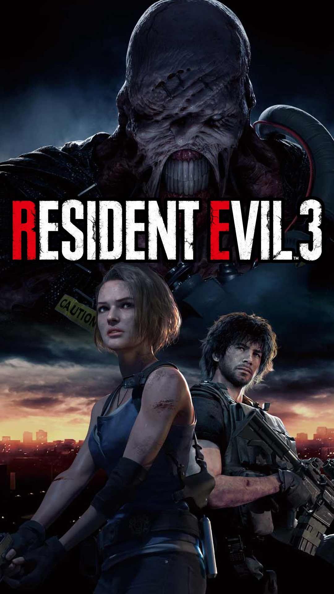 Resident evil 3 remake wallpaper HD phone backgrounds 2020