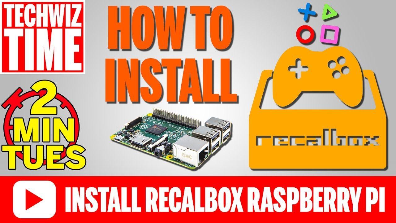 How to Install Recalbox 4 0 on a Raspberry Pi 3 2 1 B+ 0