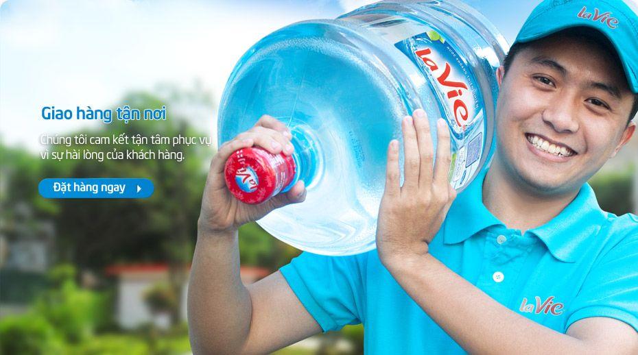 Cung cấp nước suối La Vie tại TPHCM giao nước nhanh tận nơi. Công ty Thiên An nhà phân phối uy tín - chuyên nghiệp