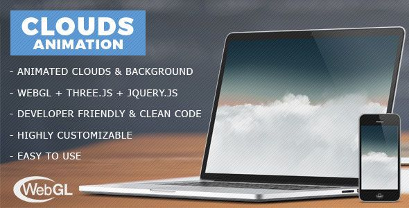 Download Free Clouds Animation - jQuery Plugin # 3d