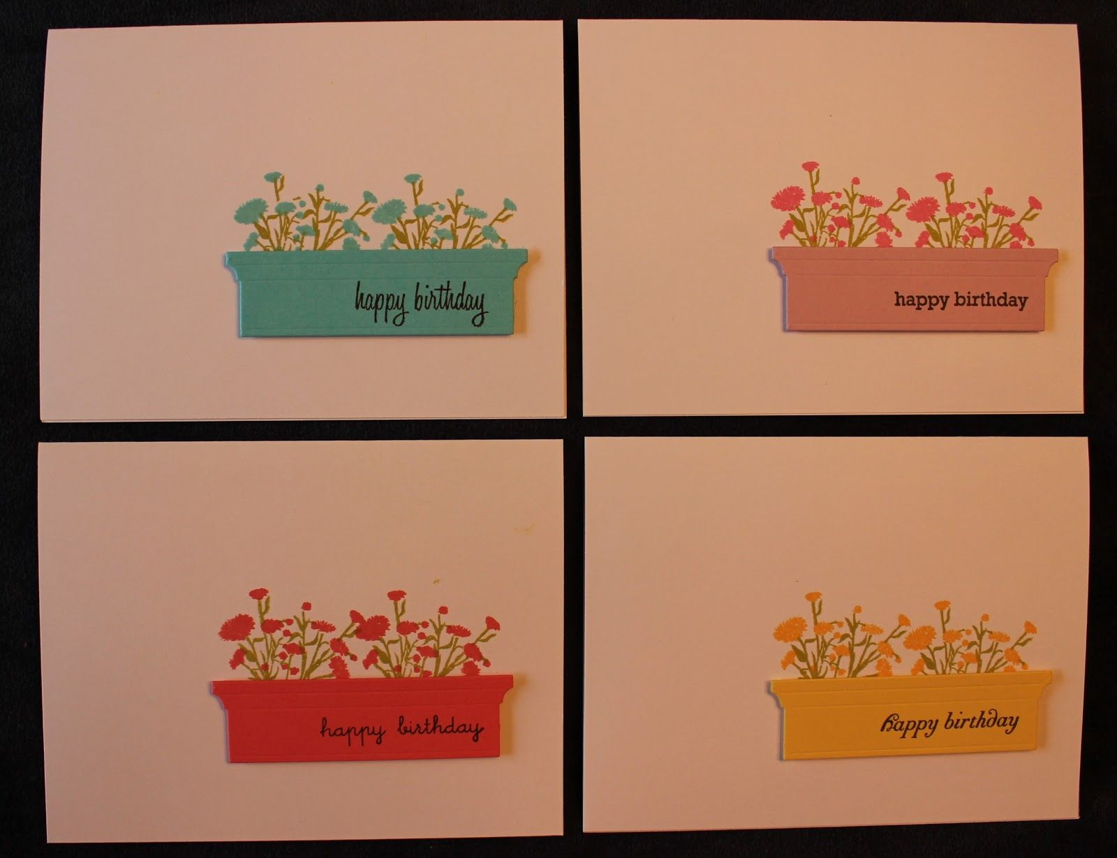 Iconic Images and Memory Box die Window Box. Card box