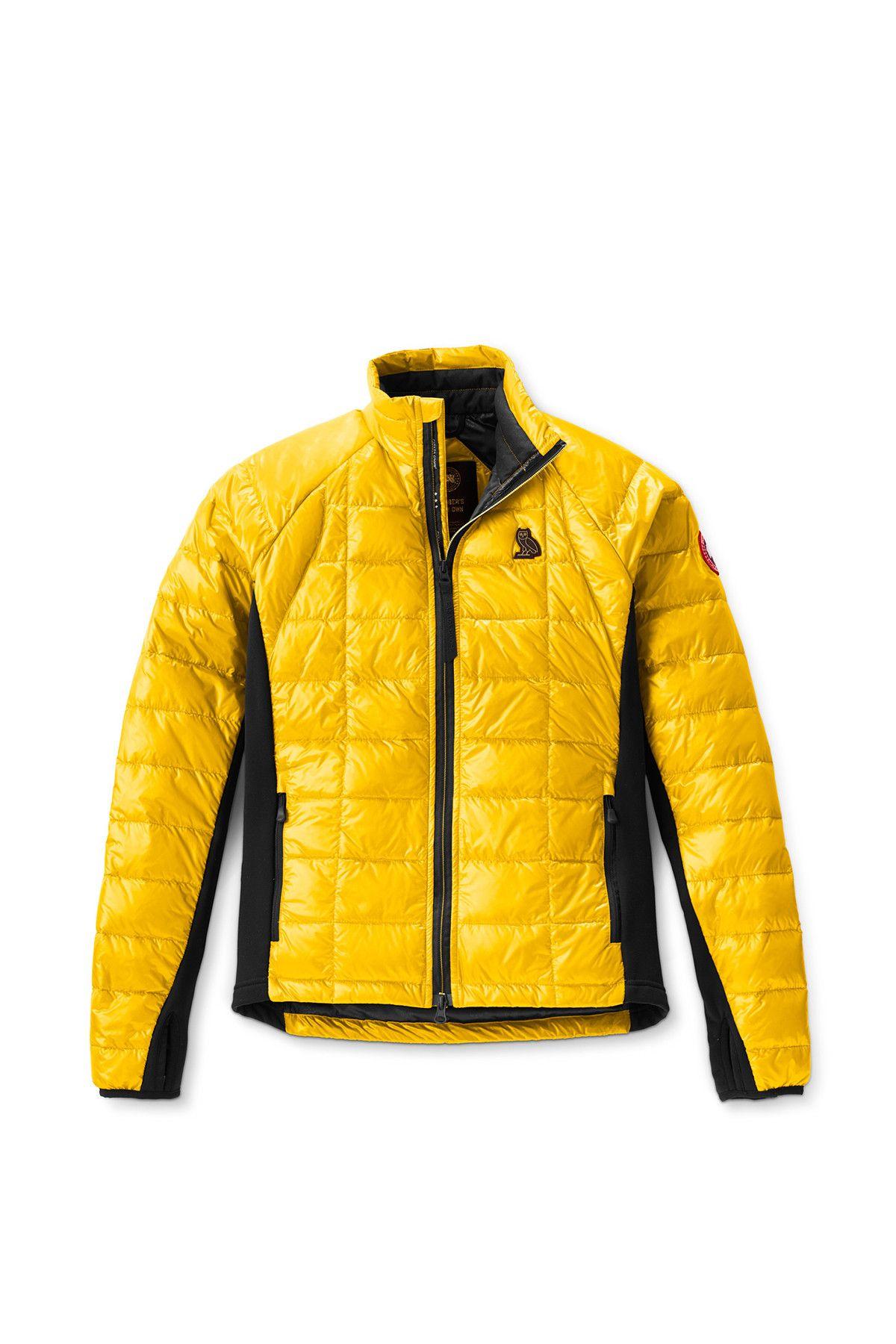 9e23bde16dca ovo canada goose collaboration fall winter 2018 hybridge jacket yellow  white orange black drake august 24 drop release date look info news sneak  peak ...