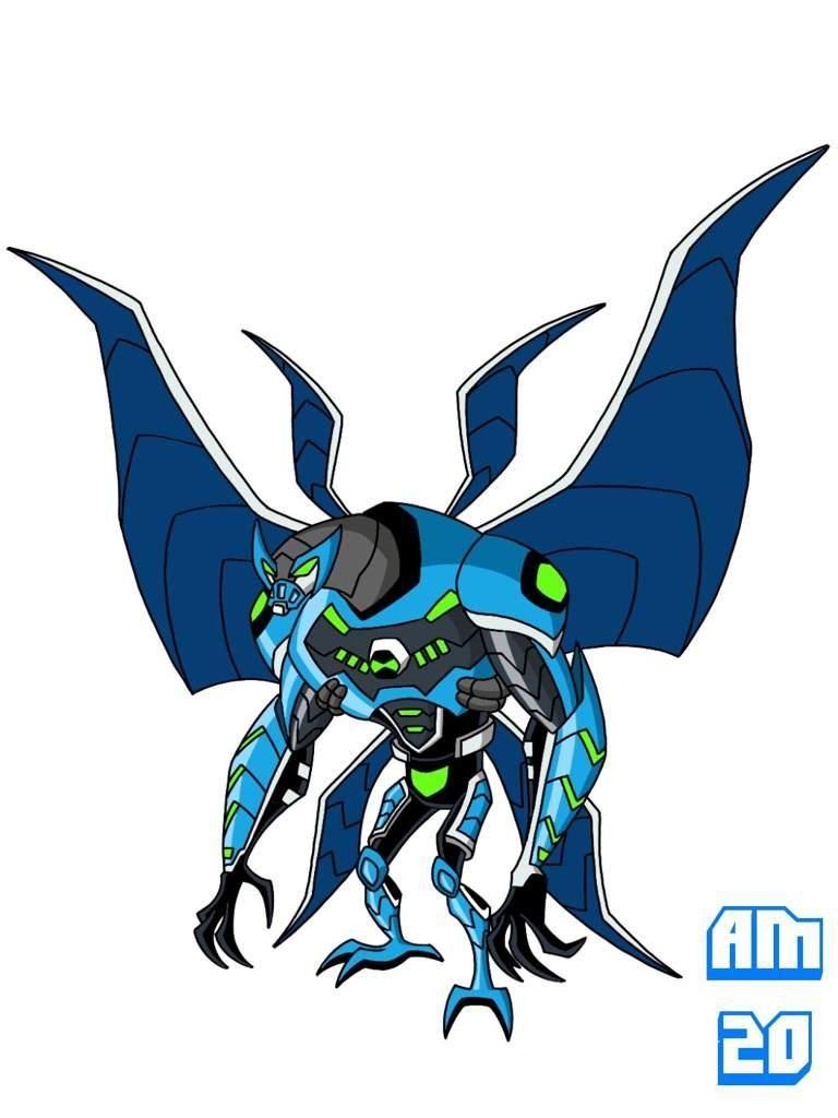 Omni Kix Armor Big Chill By Artmachband196 On Deviantart Ben 10 Comics Ben 10 Ultimate Alien Ben 10 Omniverse